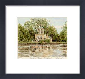 Henley - Temple Island by Glyn Martin