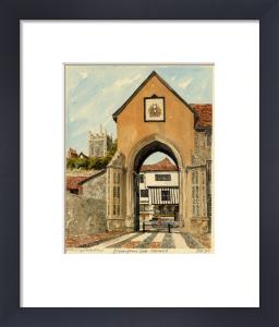 Norwich - Erpingham Gate by Philip Martin