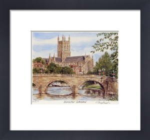 Worcester Cathedral by Glyn Martin