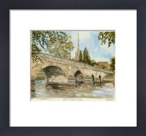 Wallingford Bridge by Philip Martin