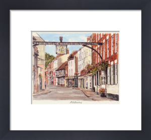 Ashbourne - Church Street by Glyn Martin
