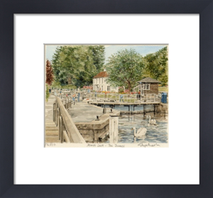 Marsh Lock by Glyn Martin