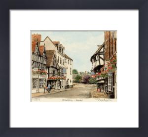 Shrewsbury - Mardol by Glyn Martin