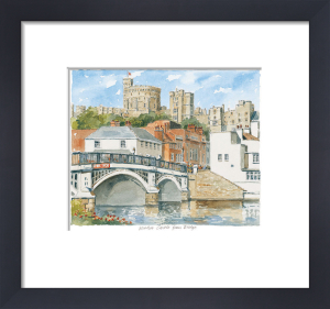 Windsor - Castle & Bridge by Philip Martin