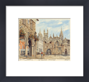 Peterborough - Cathedral by Philip Martin