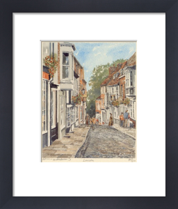 Lincoln - top of Steep Hill by Philip Martin