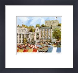 Norwich Castle & Market by Philip Martin