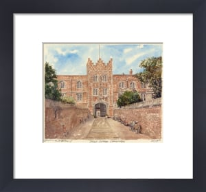 Cambridge - Jesus College by Philip Martin