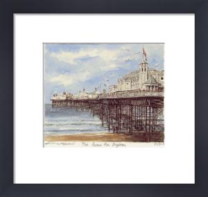 Brighton - Palace Pier by Philip Martin