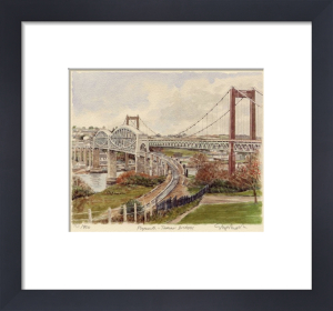 Plymouth - Tamar Bridges by Glyn Martin