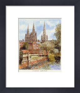 Lichfield Cathedral by Philip Martin