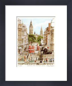Whitehall from Trafalgar Square by Glyn Martin