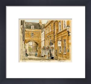 Bath - Trim St. by Glyn Martin