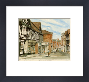 Whitchurch - High St by Philip Martin