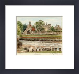 Beaulieu - Clocktower by Glyn Martin