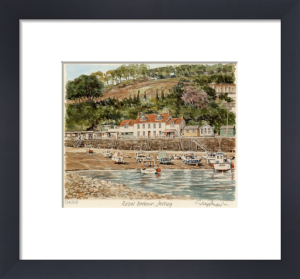 Jersey - Rozel Harbour by Glyn Martin