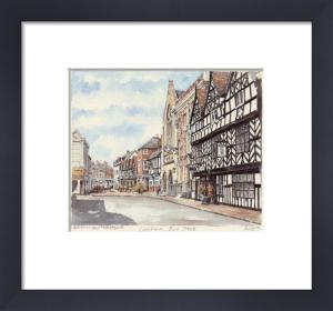 Lichfield - Bore St. by Philip Martin