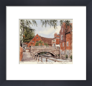 Winchester - City Mill by Glyn Martin