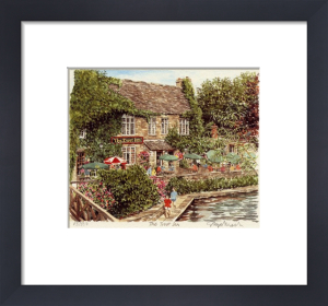 The Trout Inn by Glyn Martin