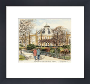 Brighton - Dome, Pavilion Gardens by Glyn Martin