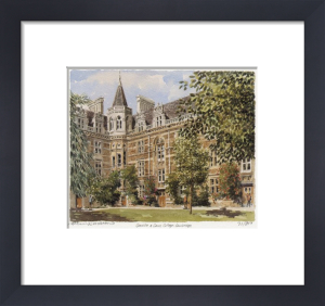 Gonville and Caius College by Philip Martin
