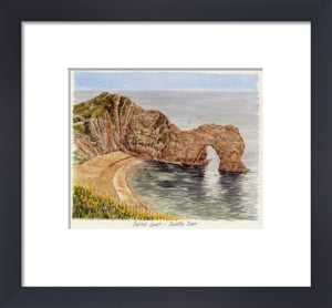 Dorset Coast - Durdle Door by Glyn Martin
