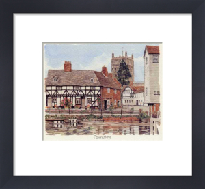Tewkesbury - from Canal by Glyn Martin