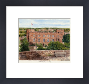 Shrewsbury Castle by Glyn Martin