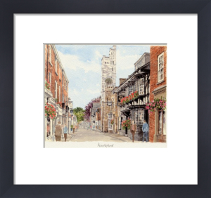 Knutsford - Rose and Crown by Glyn Martin