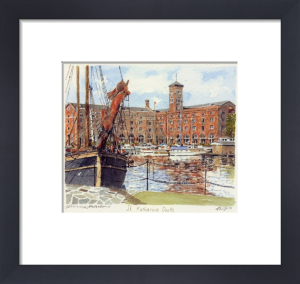 St. Katharine Docks by Philip Martin