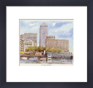 Canary Wharf by Philip Martin