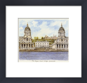 The Royal Naval College - Greenwich by Philip Martin