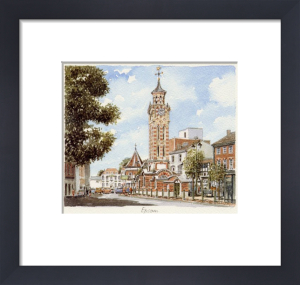 Epsom - Clock Tower by Philip Martin