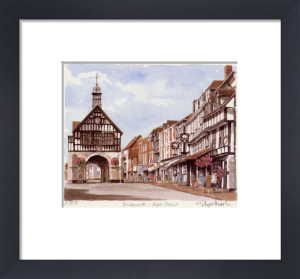 Bridgnorth - High Street by Glyn Martin