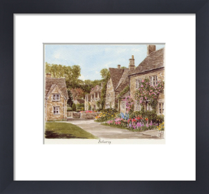 Bibury - The Square by Glyn Martin