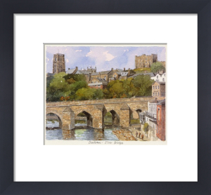 Durham - Elvet Bridge by Philip Martin