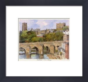 Durham - Elvet Bridge by Philip Martin