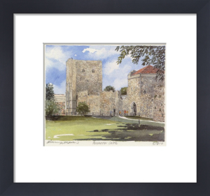 Portchester Castle by Philip Martin