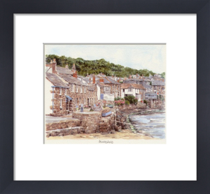 Mousehole - cottages by Glyn Martin