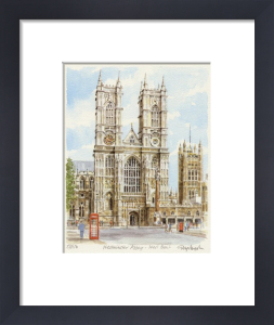 Westminster Abbey - West Front by Glyn Martin