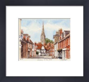 Salisbury - St Ann Street (2) by Glyn Martin