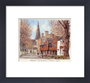 Horsham - The Causeway&St Mary's by Glyn Martin