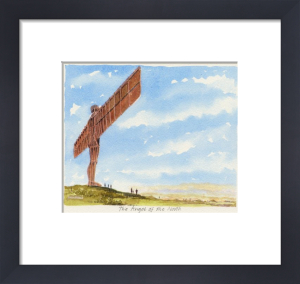 Gateshead - Angel of the North by Philip Martin