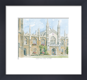 Corpus Christi College - Cambridge by Philip Martin