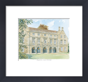 Magdalene College - Cambridge by Philip Martin