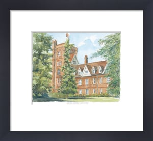 Girton College - Cambridge by Philip Martin