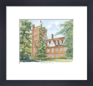 Girton College - Cambridge by Philip Martin