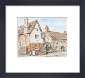 Lacock - The George by Glyn Martin