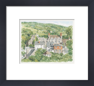 Hay on Wye - Hay Castle by Glyn Martin
