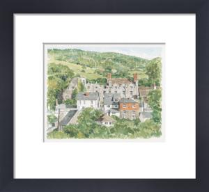 Hay on Wye - Hay Castle by Glyn Martin